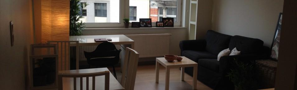 Grote 2-persoonsstudio, H. Metdepenningenstraat (Ref:HA)